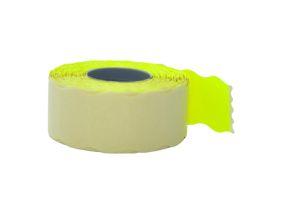 Kleebisetikett hinnapüstolile 26x12mm kollane 1500tk rullis