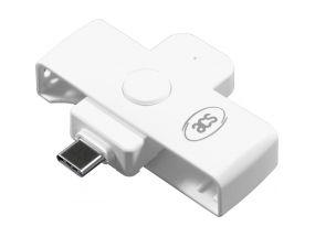 ID-kaardi lugeja USB-C (ACR39U-NF) valge