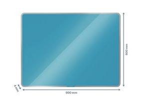 Klaastahvel-magnettahvel Leitz Cosy 800x600mm sinine