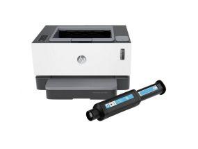 Laserprinter HP NeverStop 1000A must-valge A4