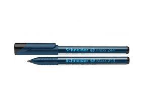 Permanentne marker Schneider Maxx 244 koonilise otsaga must