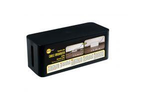 Kaablikorrastaja karp Yellow One 320x135x125mm must