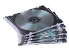 CD/DVD karp 1-le värvitu slim Fellowes ERIPAKKUMINE!