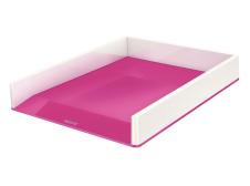Dokumendisahtel A4 Leitz Dual valge/roosa