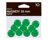Tahvlimagnet 20mm roheline 10tk pakis Grand
