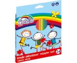 Värvipliiats 24v Fiorello Super Soft kolmnurksed