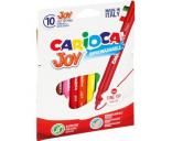 Viltpliiats 10 värvi Carioca JOY